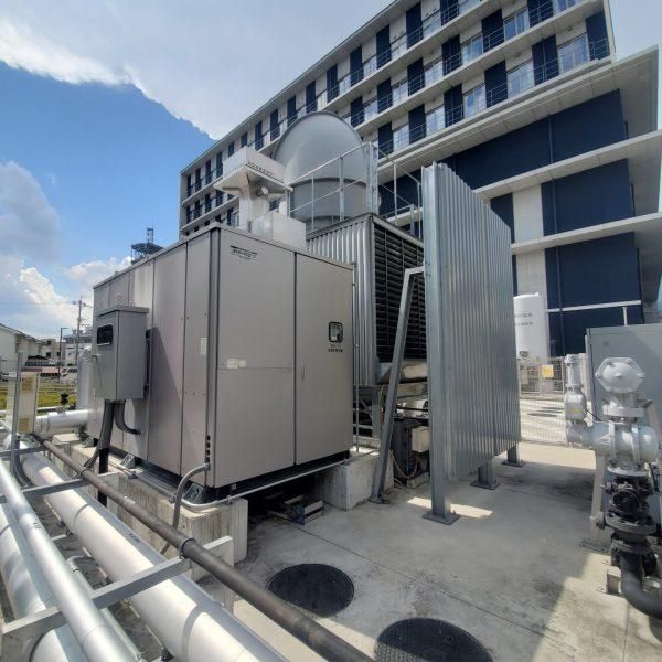 吸収式冷温水発生機